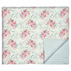 "Bed cover ""Betty mint"" 100 x 140 cm"